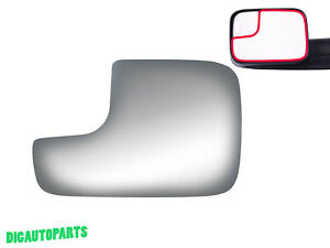 Tow Towing Mirror Glass For Dodge Ram 2500 3500 1500 Truck Driver Left Side Lh