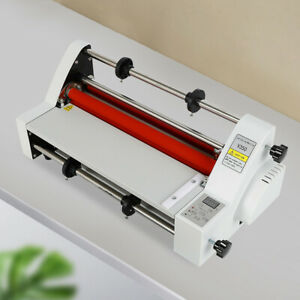 13 Four Rollers Hot And Cold Roll Laminating Machine 110v 2018 Latest Version