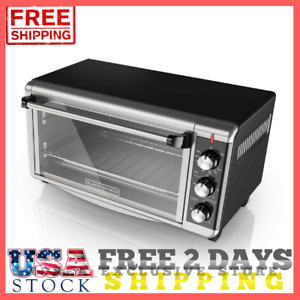 Commercial Countertop Electric Convection Oven Food Shop 8 slice Extra Wide Usa