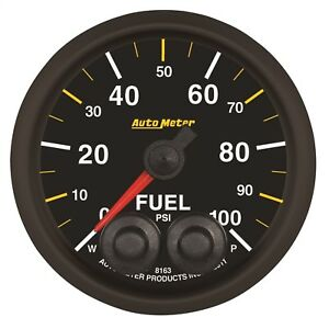 Autometer 8163 05702 Nascar Elite Can Fuel Pressure Gauge