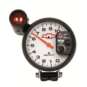Autometer 5899 00406 Gm Series Shift lite Tachometer
