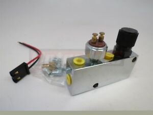 Chrome Adjustable Proportioning Valve With Distribution Block Fittings Included
