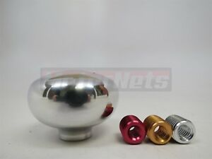 Vintage Retro Polish Mushroom Deco Aluminum Gear Shifter Shift Knob Hot Rat Rod