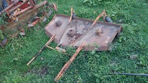Woods L59 Belly Mower Deck Farmall 140 130 Super A 100 Tractors With Brackets