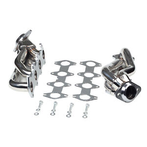 Stainless Exhaust Manifold Shorty Headers Manifold For Ford F150 5 4l V8 04 10
