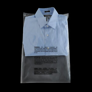 Clear Resealable Plastic Bags Self Adhesive Suffocation Warning 12 X 15 5 2000