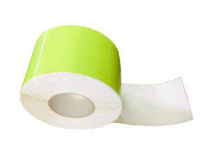 4 X 6 Green Thermal Transfer Color Labels Required Ribbon 1000 rl 4 Rls Cs