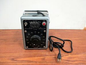 Vintage General Radio Variac W10mt3 10 Amp Auto Transformer