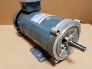New Ge 1 Hp Dc Motor Cat D280 5 8 Shaft