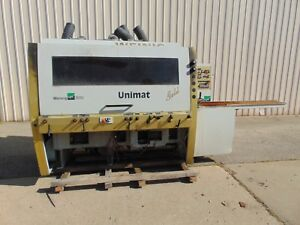 6 Head Weinig Unimat Gold Multi Head Wood Moulder Trim Woodworking Machine