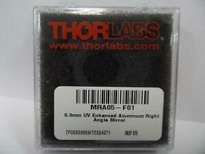 Thorlabs Mra05 f01 Right angle Prism Mirror Uv Enhanced Aluminum L 5 0 Mm
