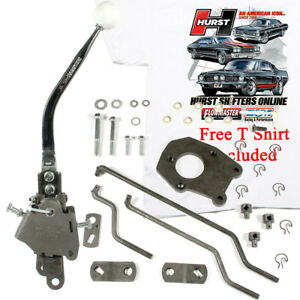 Hurst 4 Speed Shifter Kit 1962 1964 Ford Mercury Full Size With Factory Bw T10