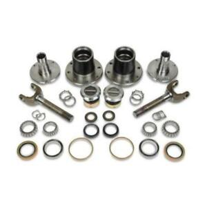 Dynatrac Hub Conversion Kit Dynaloc Hubs Fine Studs Fits Ford 99 04 F 250