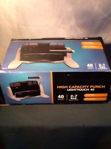 Swingline High Capacity 3 Hole Punch Lighttouch 40 74357