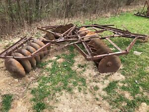 John Deere Killefer Disc Drag Type Tractor Hitch Nice Shape