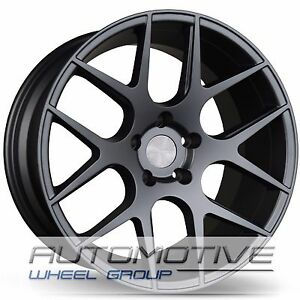 Avid1 Av30 18x9 5 30 5x114 3 Full Matte Gunmetal Concave Set Of 4