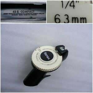 Vintage Holland Label Maker Rotex 48e Compact