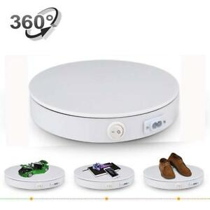 Merchandise Display Base 360 Degree Electric Rotating Turntable For Photography