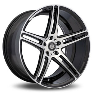 4 Curva C5 20x9 20x10 5 Black Machine 5x114 3 35 Offset Wheels Staggered Concave
