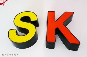 New Multi Color Channel Letters 24 Waterproof And Dust Proof Custom Made