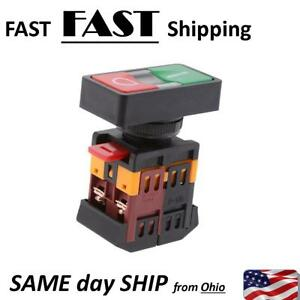 On Off Start Stop Push Button Momentary Switch Red Green Power