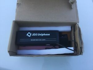 Uniphase Jdsu 1507 0 Helium Neon Gas Laser Great Condition