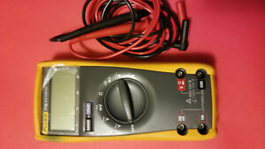 Fluke 77 Series Iii Digital Multimeter Electrical Test Meter Used