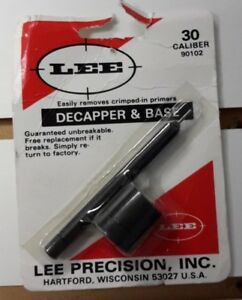 LEE DECAPPER & BASE .30 CALIBER 90102 (B9)