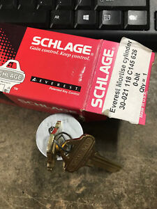 Schlage Mortise Cylinder 30 021 118 C145 Satin 626 0 Bit New