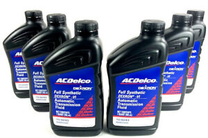 Acdelco Dexron Vi Full Synthetic 10 9243 Automatic Transmission Fluid 6 Quarts