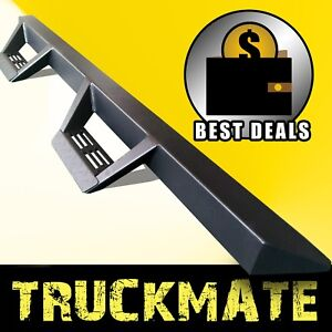 Tri Style Running Boards Side Steps Nurf Bars Fit 05 20 Toyota Tacoma Crew Cab