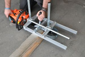 Portable Collapsible 24 Chain Sawmill Clamp On Your Saw Make Lumber