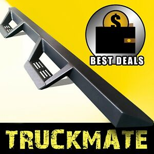 For 2005 2018 Nissan Frontier Crew Cab Tri Running Boards Side Steps Nerf Bars