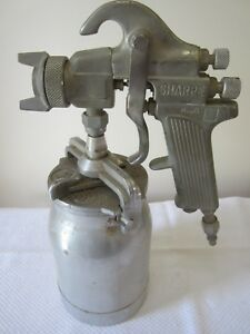 Vintage Sharpe Model 75 Auto Body Paint Sprayer Model 450 Canister