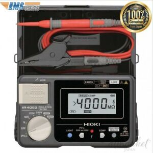 Hioki Ir 4053 10 Insulation Resistance Meter For Solar Power Generation System