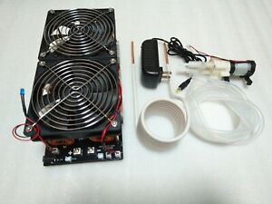 2500w Zvs Heater Induction Heating Board Module Coil Dual Fan