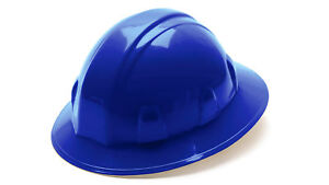 Pyramex Hp26160 Standard Sl Series Blu Full Brim Style Ratchet Hard Hat 12 Each