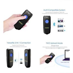 2 in 1 Bluetooth 2 4g Wireless Barcode Scanner Usb 1d Mini Portable Handheld