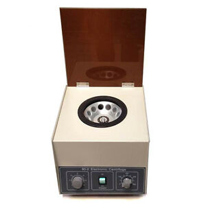80 2 Electric Centrifuge Machine Lab Medical Practice 110v 4000 Rpm 20ml X 12