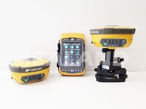 Topcon Hiper Ii Base Rover Gps With Tesla Reconditioned