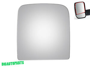 Tow Mirror Glass Replacement For Dodge Ram 1500 2500 3500 4500 5500 Driver Side