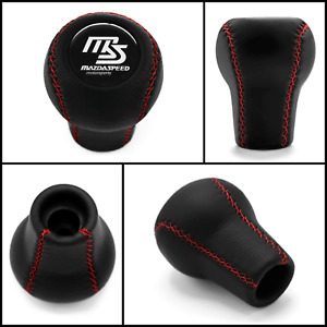 Mazdaspeed 5 6 Speed Shift Knob Mazda Red Stitch Rx 7 626 Mx 3 Mx 5 Mx 6 Xedos 6