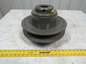 T b Woods Mcs 12s Two Flange Moveable Variable Pulley Sheave 1 7 8 Bore