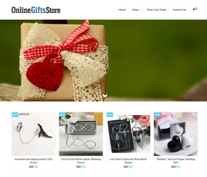 Established Gift Shop Website Business For Sale Profitable Dropshipping
