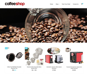 Coffee Turnkey Website Business For Sale Profitable Dropshipping