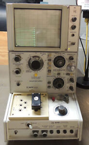 Tektronix 577 D2 Curve Tracer With 177 Test Fixture tested Working Pickup Only