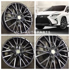 New 20 Wheels Rims 2017 Fsport Style Fits Lexus Rx300 Rx330 Rx350 Rx400h Rx450h