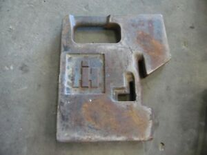 Ih 100 Lb Front Tractor Suitcase Weight Part 148347 c1 Tag 285