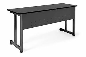 Modular Workstation Training Table With Graphite Color Top 55 w X 20 d