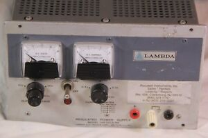 Lambda Model Lh 125a Fm Regulated Power Supply Lh 125a Tested